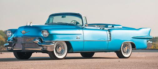 Big Blue Cadillac