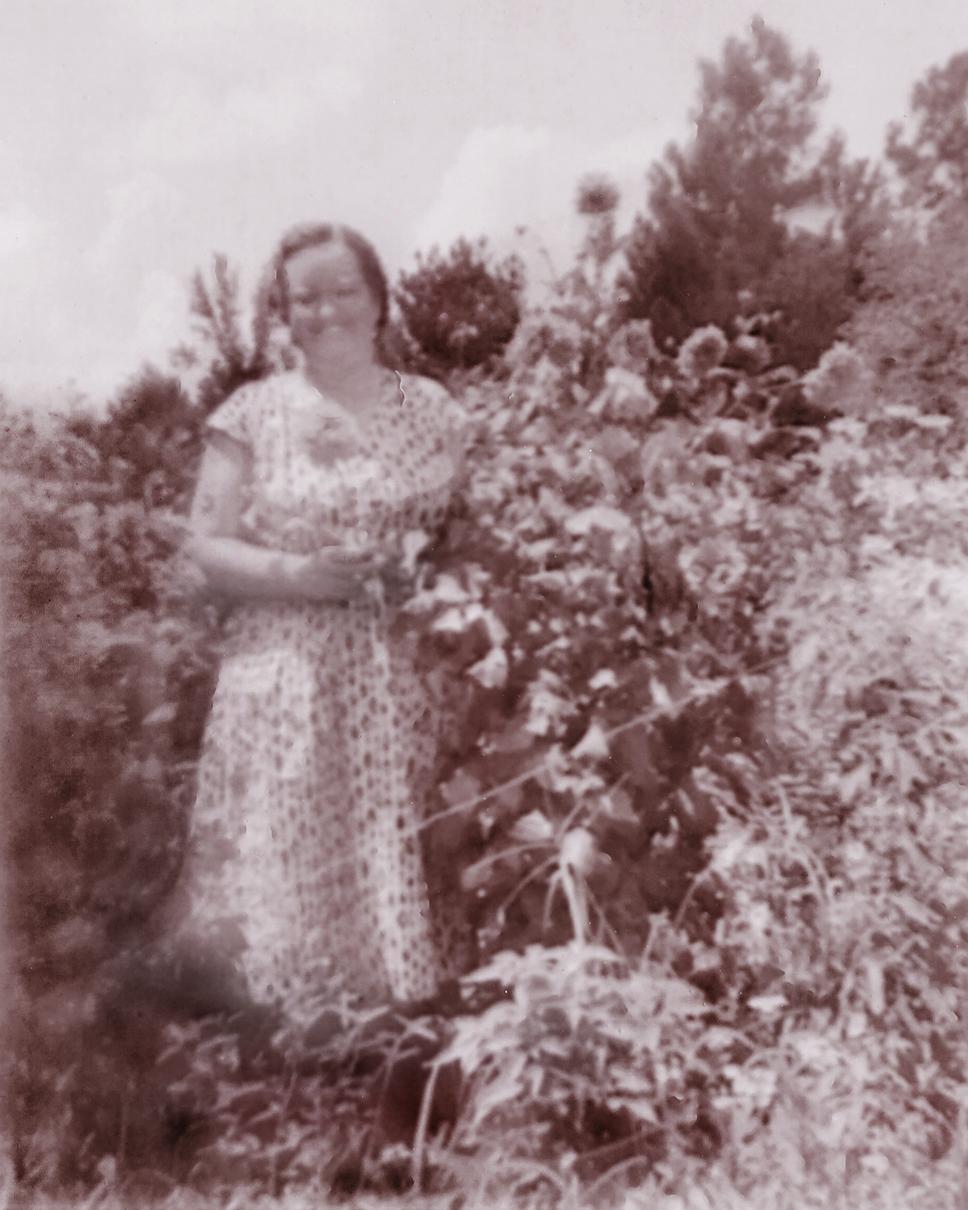 Ruby in Garden