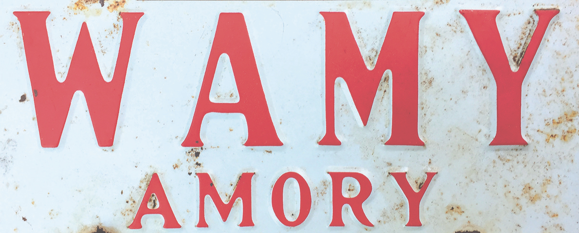WAMY license plate
