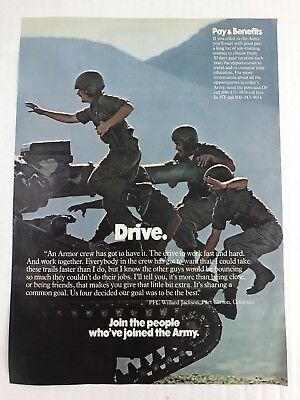 Army-Recruitment-Vtg-1977-Print-Ad-Join-The-1